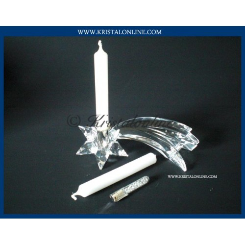 Candle holder Comet