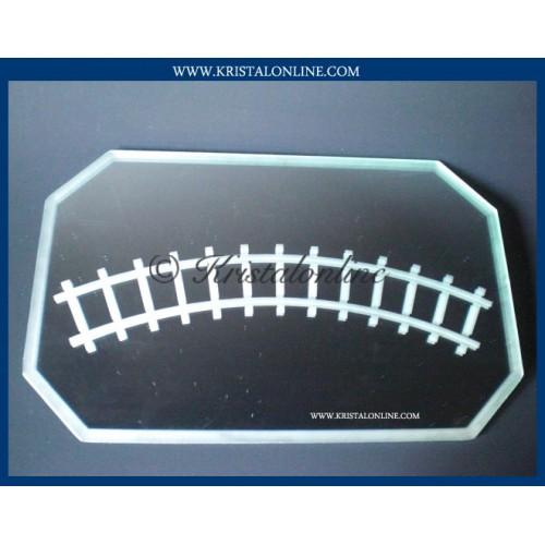 Display train mirror