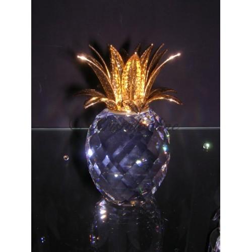 Candleholder Pineapple Gold