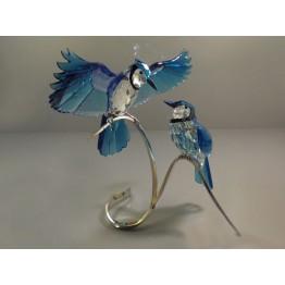 Swarovski Crystal | Crystal Paradise | Pair of Blue Jays 1176149