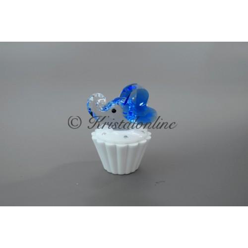 Cupcake Box with Elephant | Sapphire