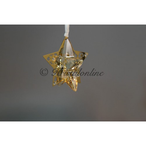 Christmas ornament Star, Golden Shadow