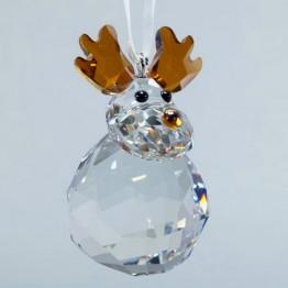 Rocking Reindeer - ornament