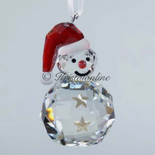 Rocking Snowman - ornament