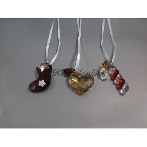 Christmas set (hearts, stocking and candy cane)