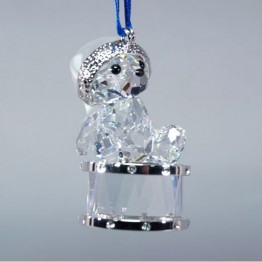 Kris Bear - Christmas Ornament - Annual Edition 2007 - On Drum