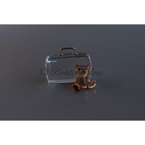 Cardholder Teddybear - Suitcase