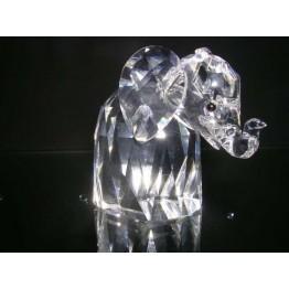 Elephant - big metal tail