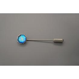SCS - Renewal Gift 1989 - 1995 - Pin Swan Blue