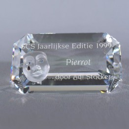 Title Plaque 1999 Pierrot