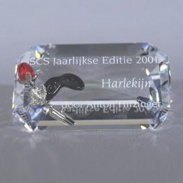 Title Plaque 2001 Harlequin