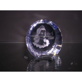 SCS - Paperweight 2000 - Columbine - large