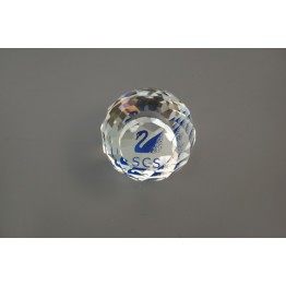 SCS - Renewal Gift 1988 - 1991 - Paperweight Swan Blue