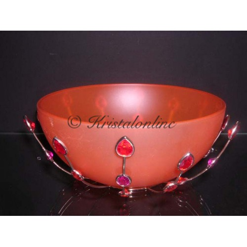 Bowl Jewels red