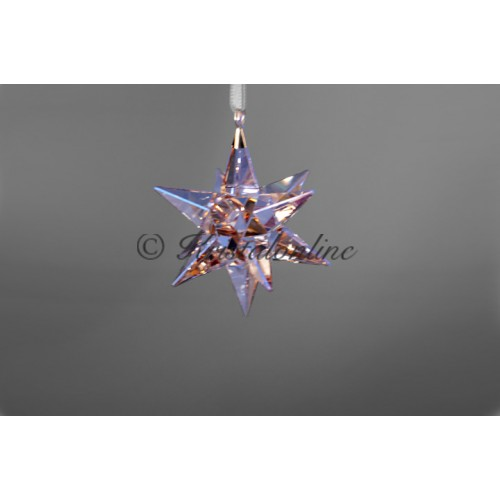 Christmas ornament 3D Star, Golden Shadow
