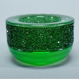 Shimmer Tea Light Green