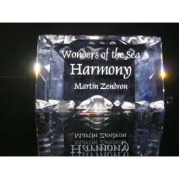 Title Plaque 2005 Harmony (without box and cert.)