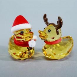 Happy Ducks - Santa & Reindeer