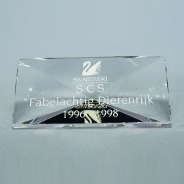 Title Plaque 1996-1998 Fabulous Creatures (without box and cert.)