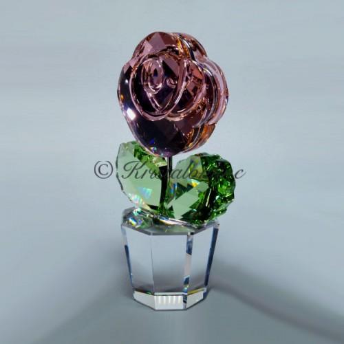Swarovski Crystal | Crystal Moments | Flower Dreams | Rose Pink - Large | 872196