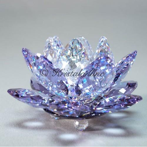 Candleholder Waterlily Violet