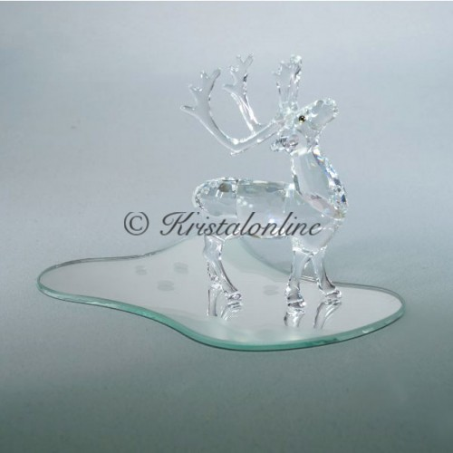 Reindeer without mirror