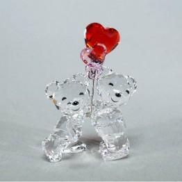 Kris Bears - Heart Balloons
