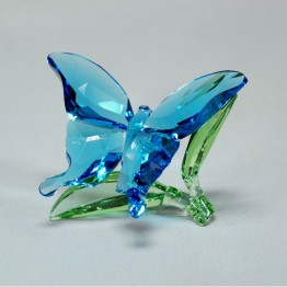 Swarovski Crystal | Crystal Paradise | Butterfly on Leaves 5136834